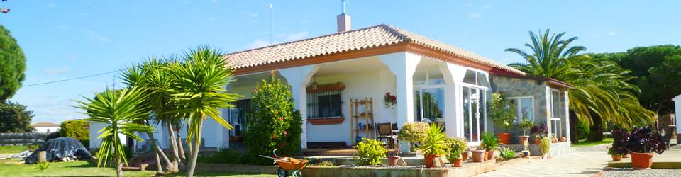 Haus Villa Chalet mit grossem Garten in Andalusien Costa de la Luz Conil de la Frontera zu verkaufen
