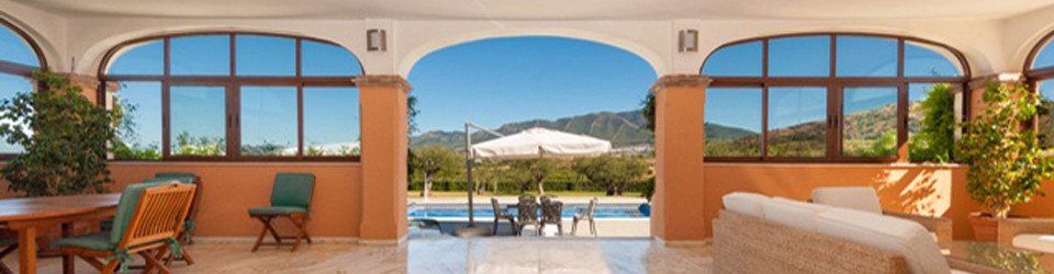 Reitfinca Villa Reitimmobilie Alhaurin el Grande, Provinz Malaga, Andalusien, Costa del Sol, zu verkaufen