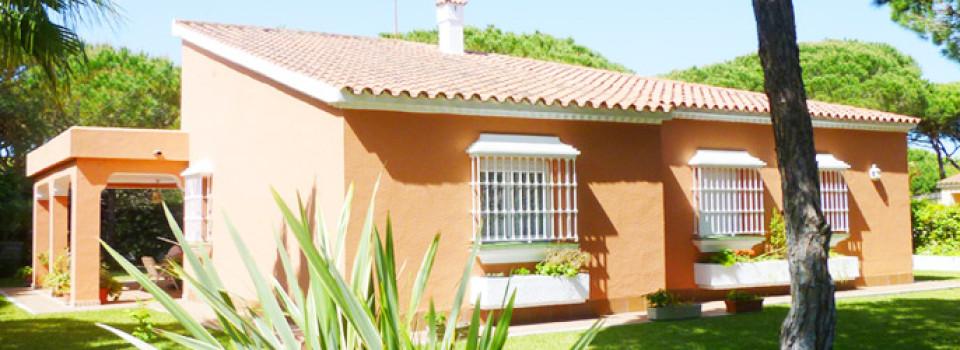 Villa, Ferien-Haus, strandnah, Conil, Roche, Costa de la Luz, Cádiz, Andalusien, zu verkaufen