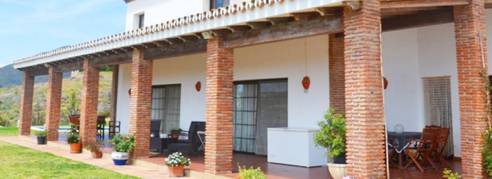 Finca Villa, Reitimmobilie an der Costa del Sol nahe Mijas in Andalusien, Südspanien zu verkaufen