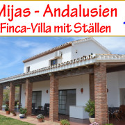 Finca Villa Reitimmobilie Costa del Sol Mijas Andalusien zu verkaufen