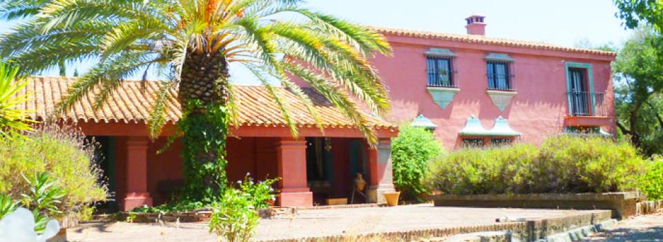 Finca, Landhaus, Reitimmobilie, Sotogrande, San Martin del Tesorillo, Costa del Sol, Andalusien, zu verkaufen
