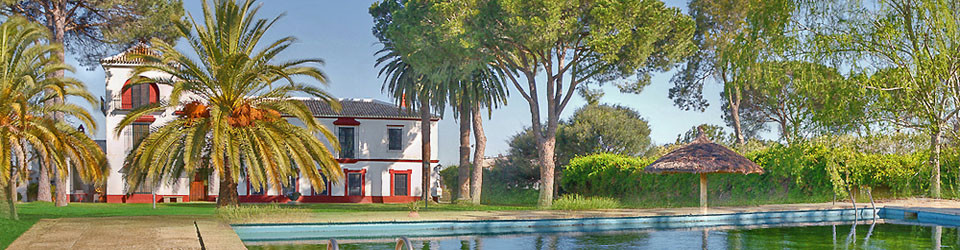 traumhafte Hacienda, ideal als Reithotel, Coto Donana, Andalusien zu verkaufen