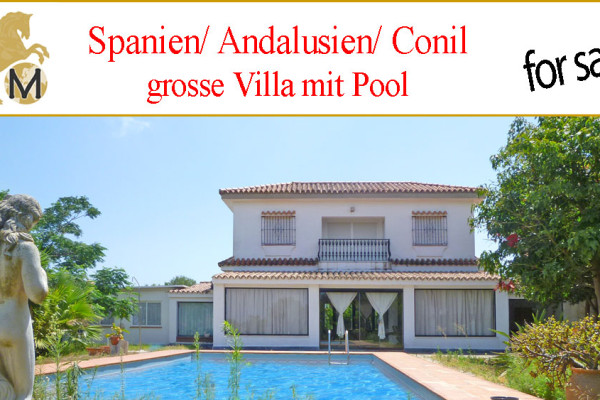 large villa with pool for sale Conil de la Frontera