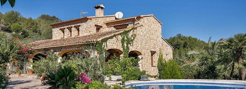 countryhouse with horsestable Alicante, Costa Blanca, Calpe for sale