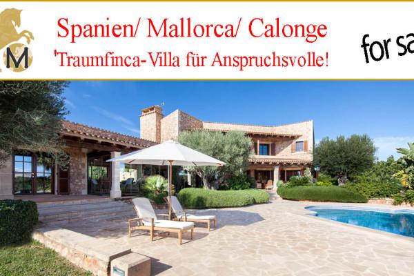 Luxusfinca auf Mallorca, Calonge, zu verkaufen