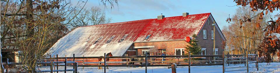 Bauernhaus mit Pferdestall bei Aurich, Niedersachsen zu verkaufen