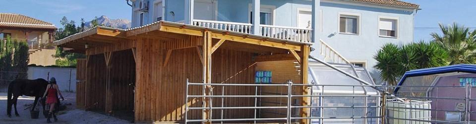 geräumige Haus mit der Möglichkeit bis 5 Pferde zu halten zu verkaufen in Mutxamel, Costa Blanca, Alicante