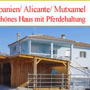 Haus mit Pferdehaltung in Mutxamel zu verkaufen