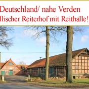 Reiterhof Niedersachsen Verden zu verkaufen